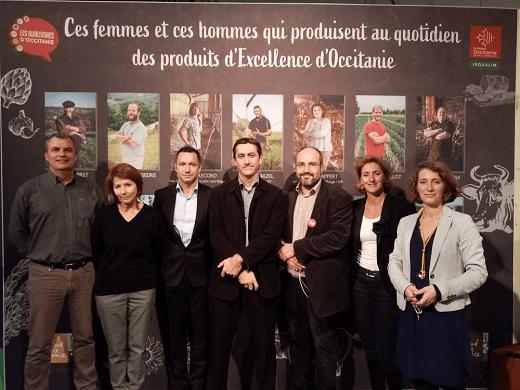 Photo de l'équipe In'FAAQT présente au Régal 2019