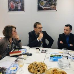 Grégory Dechamp-Guillaume au petit-déjeuner de presse de la Chaire In'FAAQT au SIA 2020