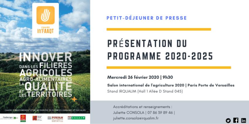 INVITATION PRESSE SIA 2020